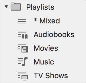 playlist kinds