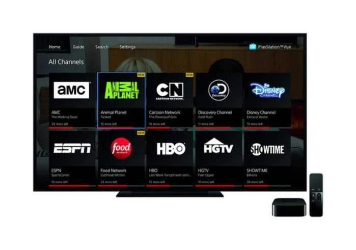 playstation vue apple tv
