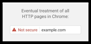privatei cert warning chrome