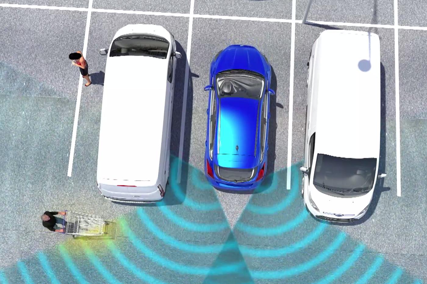 Ford cross traffic alert braking