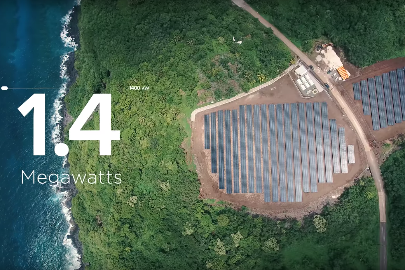 Tesla SolarCity Powerpack microgrid Ta'u