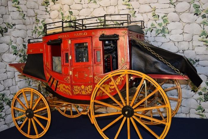 stage coach wells fargo