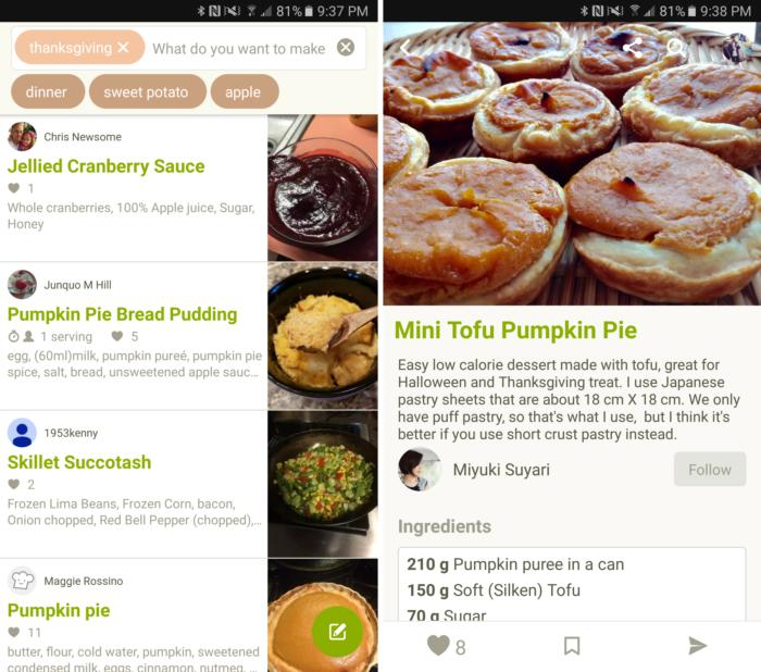 thanksgiving meal cookpad