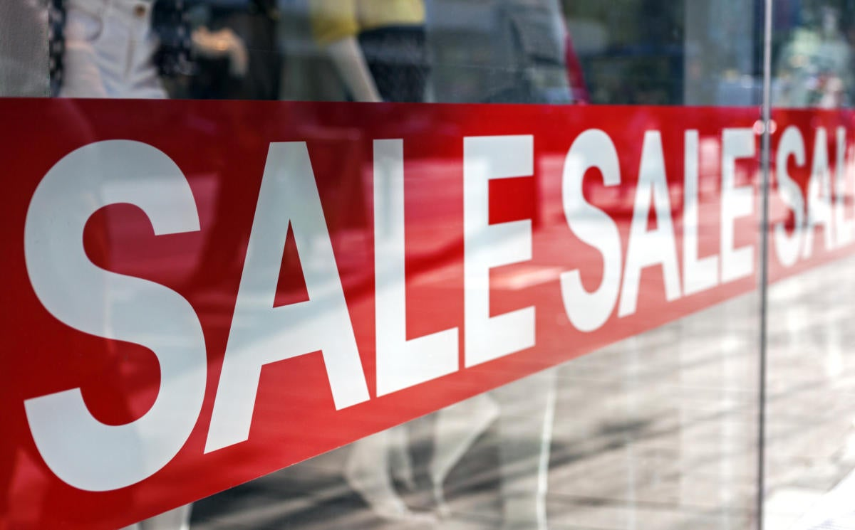 Sale image (Thinkstock)