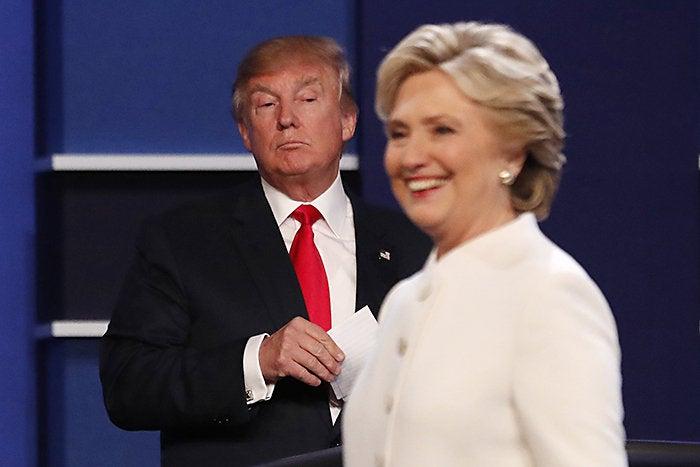trump clinton debate three