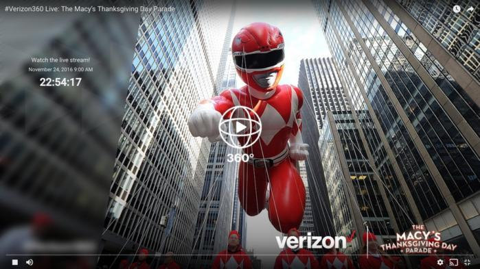 Watch the Macy\u0027s Thanksgiving Day Parade live in 360 degrees on