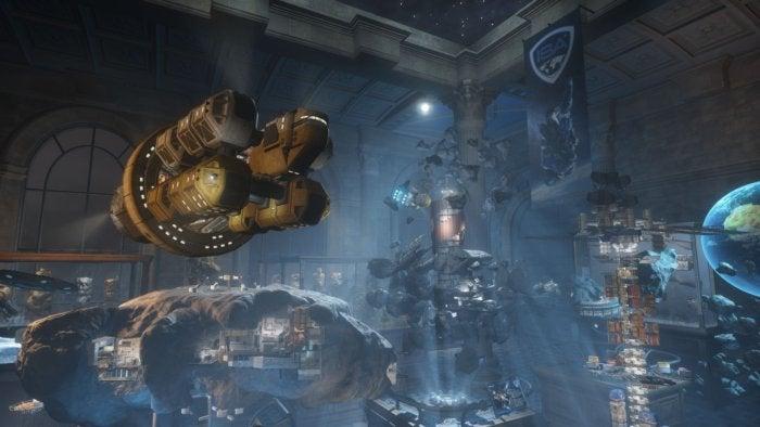 vrmark blue room screenshot 2