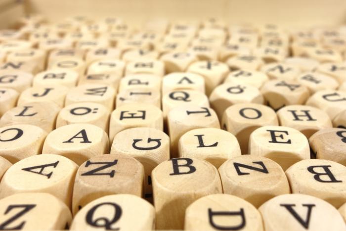 wood cube abc cube letters alphabet