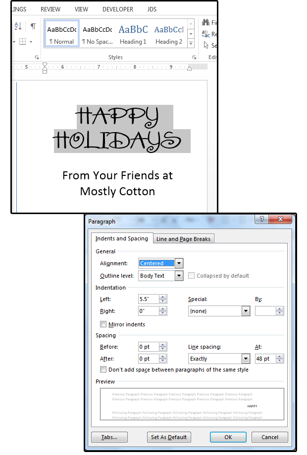 How to use Word to create holiday cards and other projects | PCWorld
