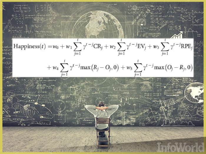 Mathematical equation reveals the secret to happiness