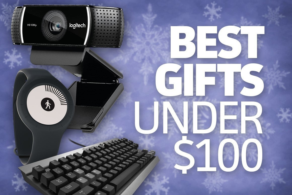 awesome tech gifts that cost less than $100 | pcworld