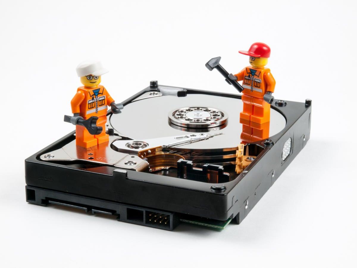 fix repair hard drive lego