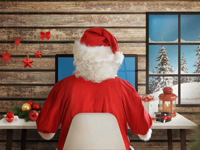 Wrap up your data first, before wrapping your gifts