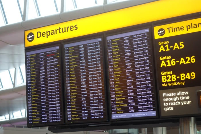 150901 heathrow departure board london