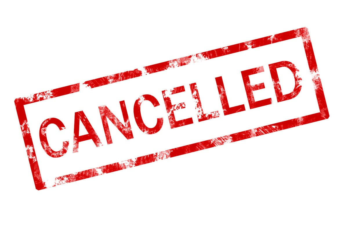 Cancelable JavaScript promises cancelled