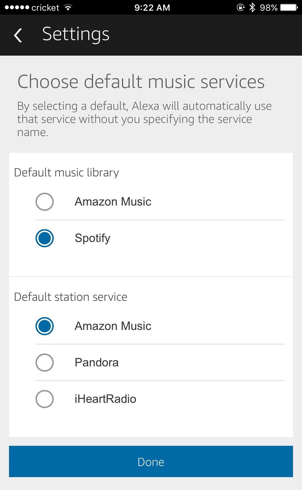 change amazon account on alexa