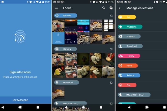 android essential apps focus