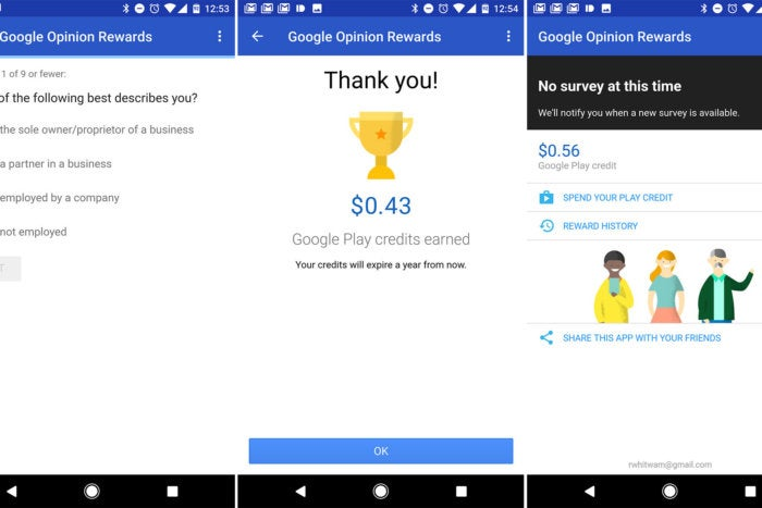 android essential apps opinion rewards