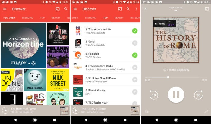 android essential apps pocket casts