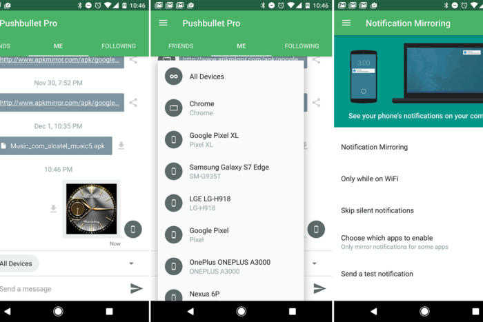 android essential apps pushbullet