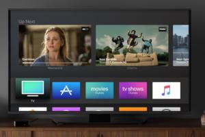 apple tv app stock