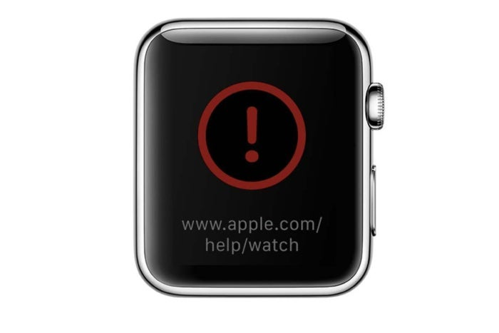 apple watch recovery symbol