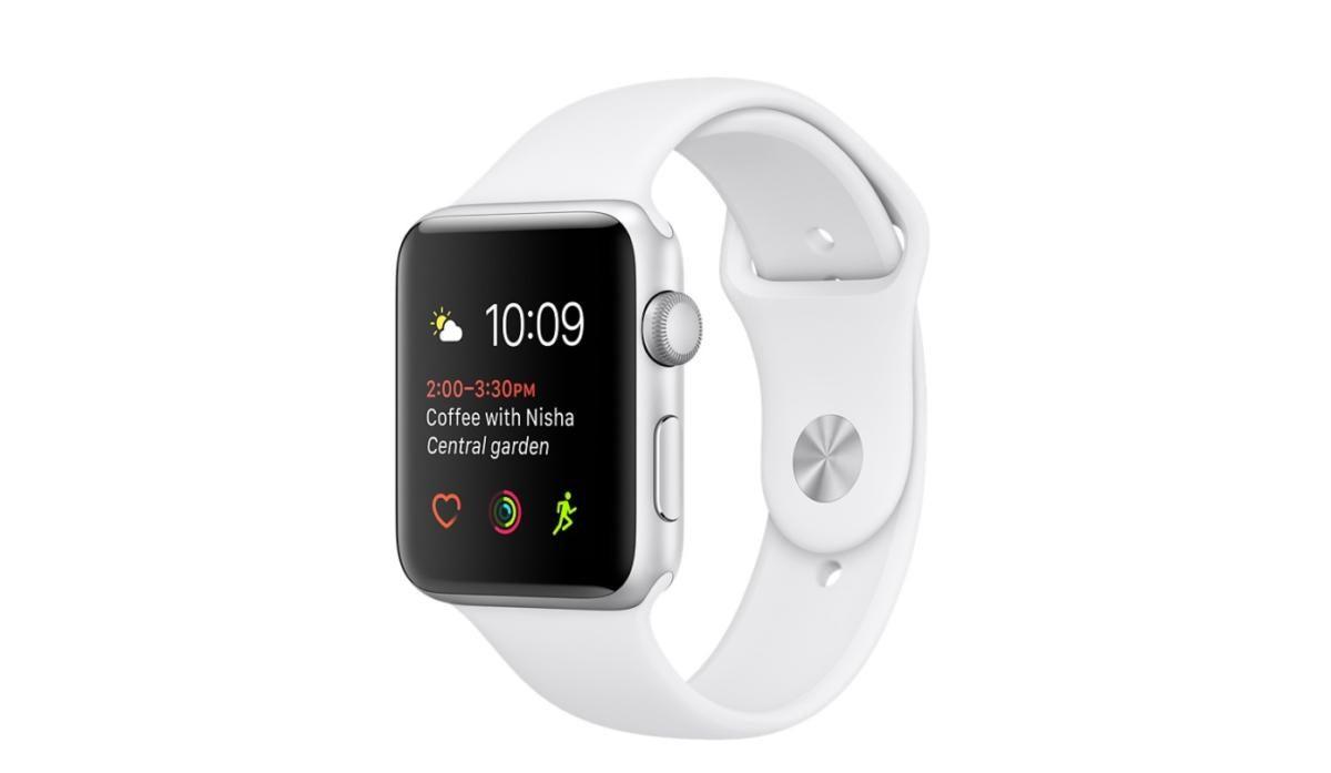 apple watch series 2 white