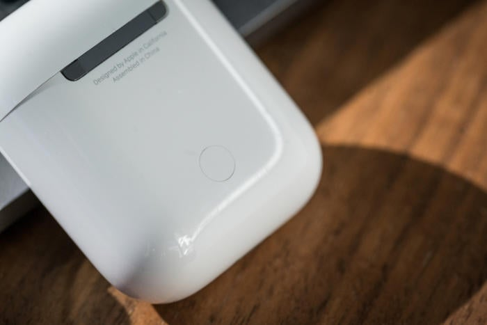 apple airpods review adam case back