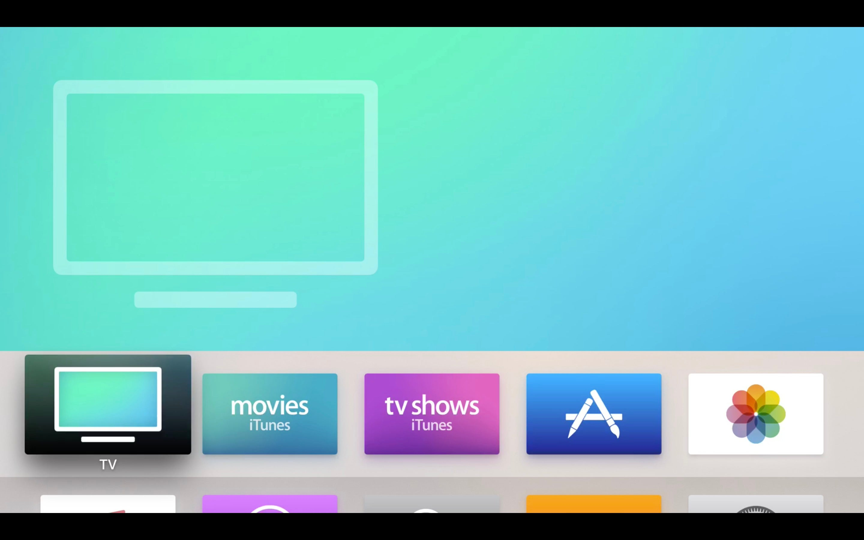 how to add apps to apple tv home screen