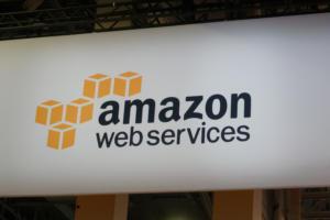aws logo stock reinvent