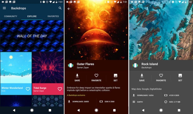 best apps of 2016 backdrops