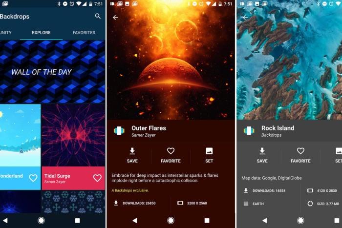 best apps of 2016 backdrops