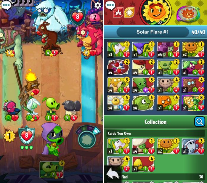best ios games 2016 pvzheroes