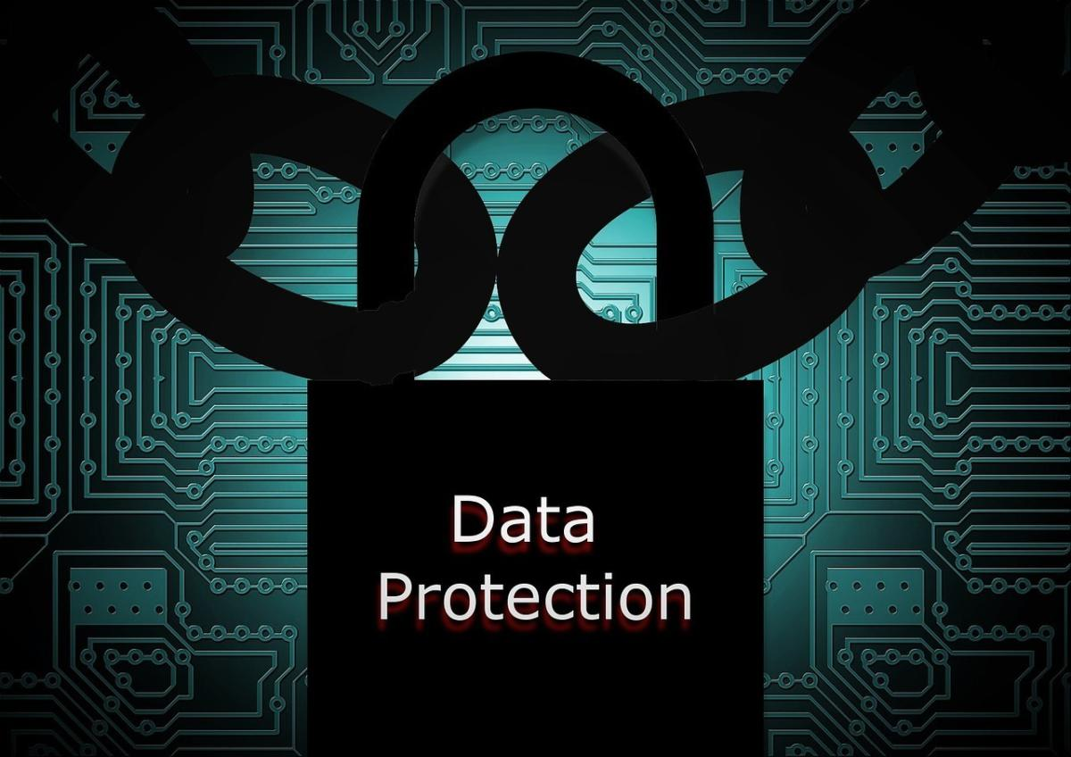 data protection lock chain