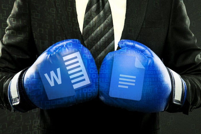 cw microsoft office vs google docs