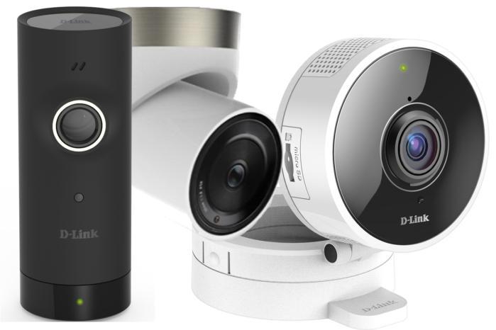 D-Link DCS-8000LH, DCS-8700LH, DCS-8100LH home security cameras
