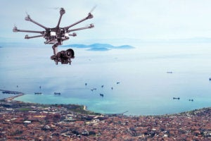 Taking to the skies – using drones in the insurance industry