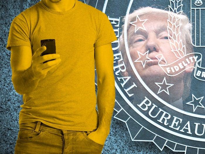 fbi trump iphone
