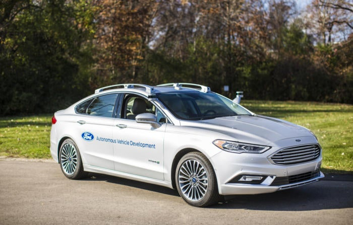 Ford ready to start testing 'next-generation' self-driving auto