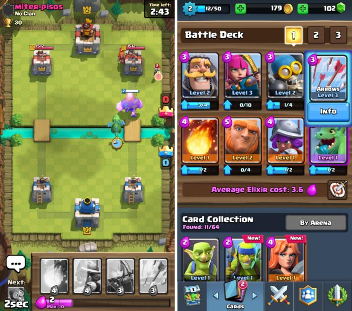 free android games 2016 clashroyale