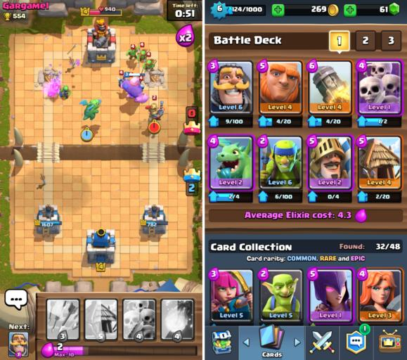 free ios games 2016 clashroyale
