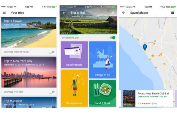 google trips ios app