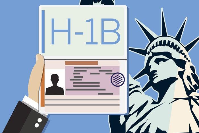 H-1B on passport