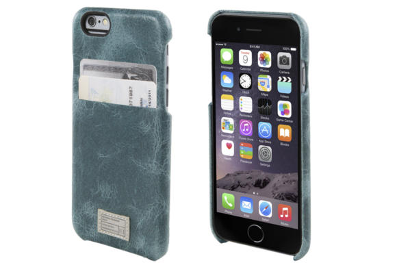 hex vintage teal leather solo iphone6s