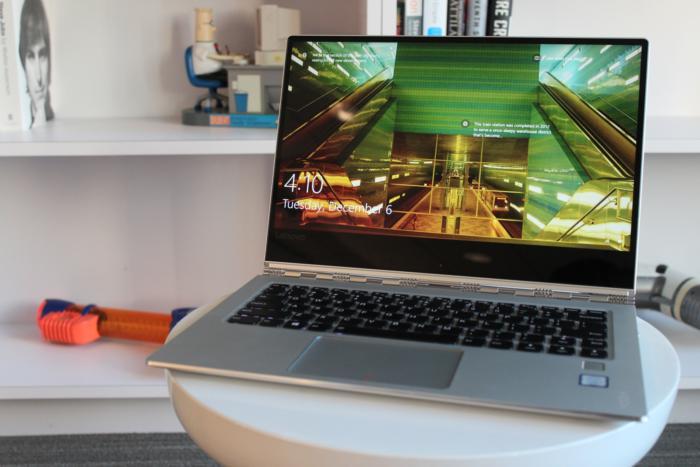 Lenovo Yoga 910 beauty shot