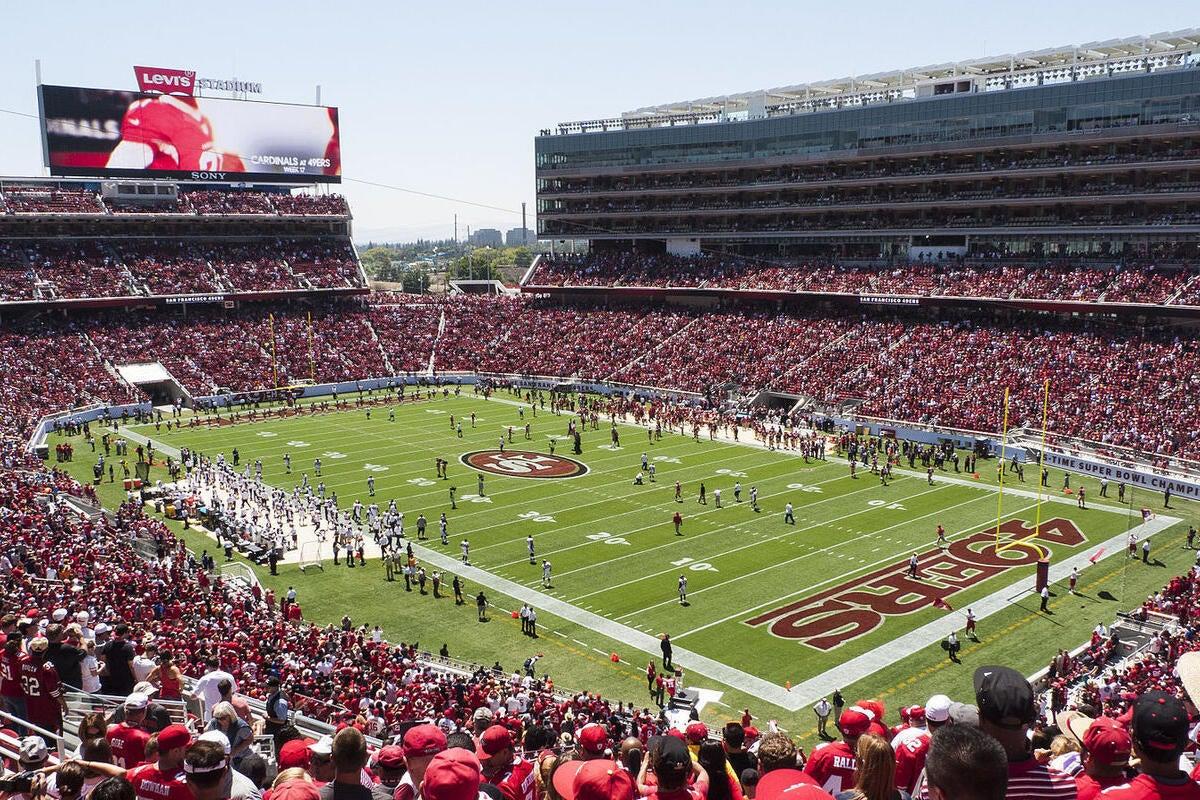 levis stadium san francisco 49ers