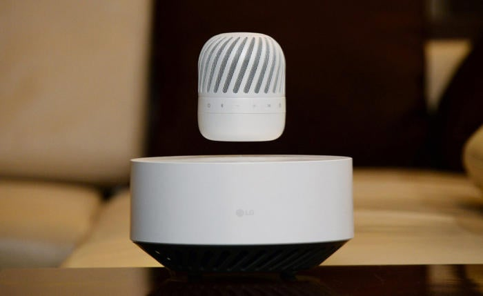 lg levitating portable speaker1