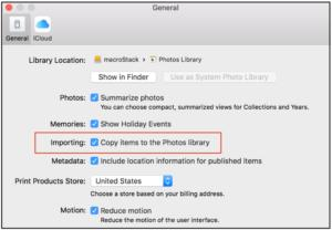 mac911 copy images to photos library