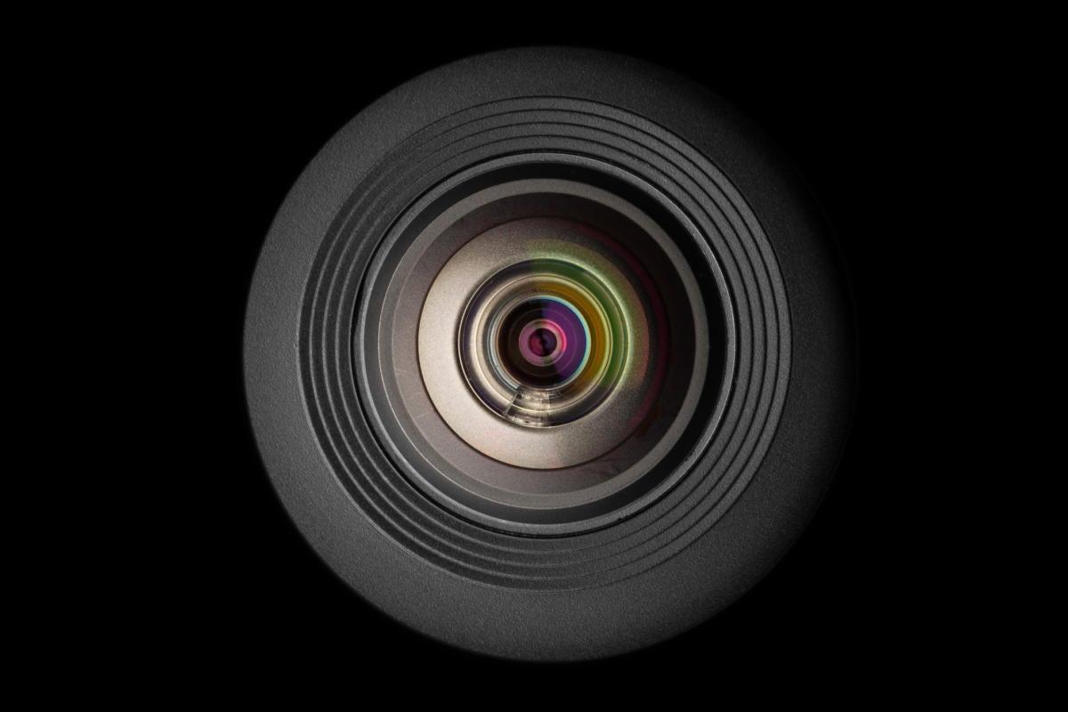 mobile camera lens stock