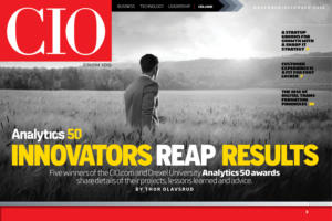 Nov/Dec 2016: Analytics innovators reap results